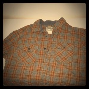 Other - Overdrive Flannel plaid button shirt
